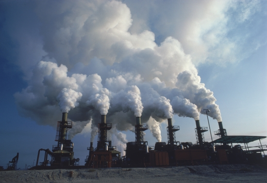 how does pollution in large cities